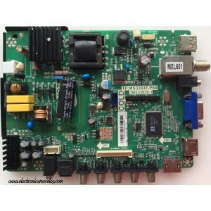 FUENTE / MAIN / SANYO B14010336 / 02-SHY39B-CYS0 / TP.MS3393T.P68 / 3MS3393X-1 / MODELO DP24E14 P24E14-00