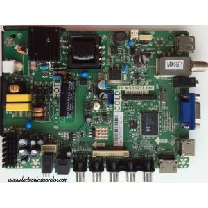 FUENTE / MAIN / SANYO B14020649 / 02-SHY39B-CYS0 / TP.MS3393T.P68 / 3MS3393X-1 / MODELO DP24E14 P24E14-00
