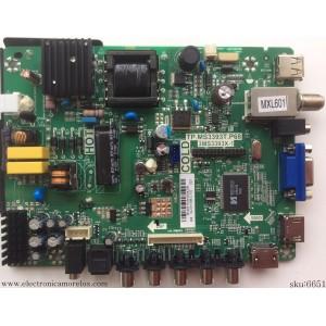 FUENTE / MAIN / SANYO B14031319 / TP.MS3393T.P68 / 3MS3393X-1 / 02-SHY39B-CYS0 / MODELO DP24E14 P24E14-03