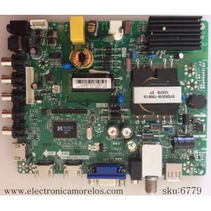 FUENTE /MAIN / HISENSE U14080141 / LHD32D37US.T.B0 / J142107 / TP.MS3393.PB851 / MODELO 32H3E