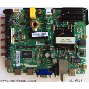 MAIN / FUENTE (COMBO) / UPSTAR N14060087 / TP.MS3393T.PB851 / 82-2000073 / PANEL HV320WX2-206 / MODELO P32EA8 BO146E
