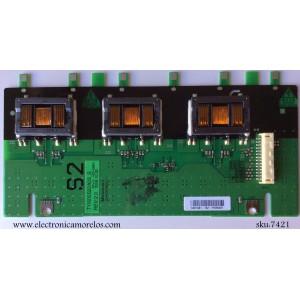 BACKLIGHT INVERSOR S2 8/ SHARP RDENC2614TPZA / TYI600S22A03_S / 0948(090806)1 / 2614A / MODELO LC-60E78UN