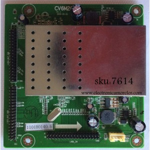 DRIVER T-CON / SCEPTRE 1101H0140 / CV6M20 / MODELO LE40H88