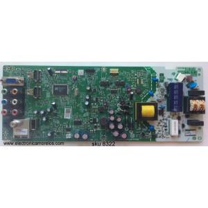FUENTE / MAIN (COMBO) / EMERSON A4AF0MMA-002 / A4AF0UH / BA4AF0G0201 1 / MODELO LF320EM4A DS1