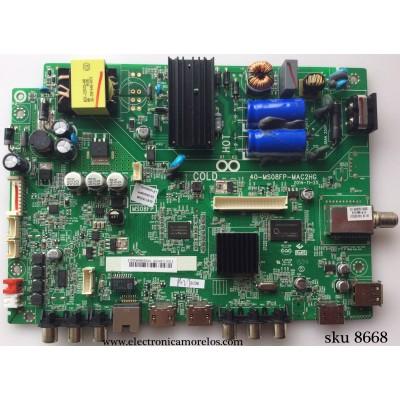MAIN / FUENTE (COMBO) / TCL V8-OMS08FP-LF1V006 / V8-0MS08FP-LF1V006(C8) / 40-MS08FP-MAC2HG / GLE118352B