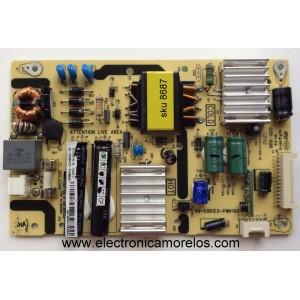 FUENTE DE PODER / TCL 81-PE061C3-PL290AA / 40-E061C3-PWK1XG
