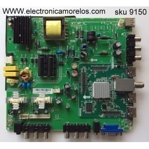 MAIN / FUENTE / (COMBO) / APEX L12120463 / HV320WX2-200 / TP.A75A3391 / MODELO LE3243T / PANEL T315LK01-BW1