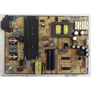 FUENTE DE PODER / TCL 81-PBE050-H91 / SHG5504B01-101H / CQC10001044561