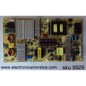 FUENTE DE PODER / PHILIPS UPBPSPRGB001 / 168P-P58EQF-W2 / 5800-P58EQF-W020 / MODELO 58PFL4609/F7 DS1 /PANEL V580HJ1-LD6 REV.C1