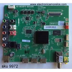 MAIN /TCL V8-OMS08F4-LF1V003(H6) / GFF119715A / V8-OMS08F4-LF1V003(H6) / MS08F4/5 / 40-MS08F6-MAA2HG