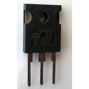 LOTES DE 10 PIEZAS FAST POWER MOSFET TRANSISTOR W15NA50