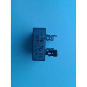 LOTE DE 7 PIEZAS DE DIODO RECTIFICADOR / KBPC3506 35 AMPS 420  V